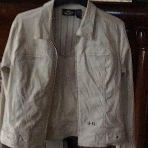 Harley Davidson beige jacket
